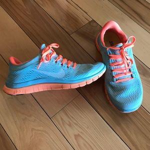 Nike free 3.0 size 7.5